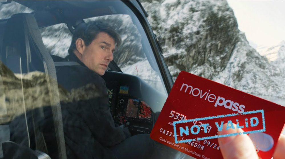 MoviePass mission impossible fallout / Filmz.dk