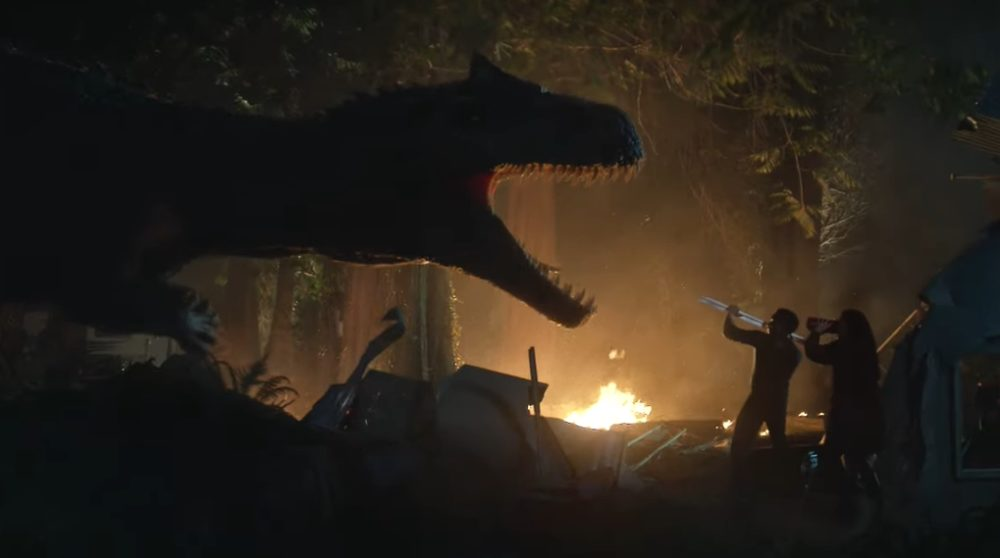 Jurassic World Battle at big rock gratis se kortfilm / Filmz.dk