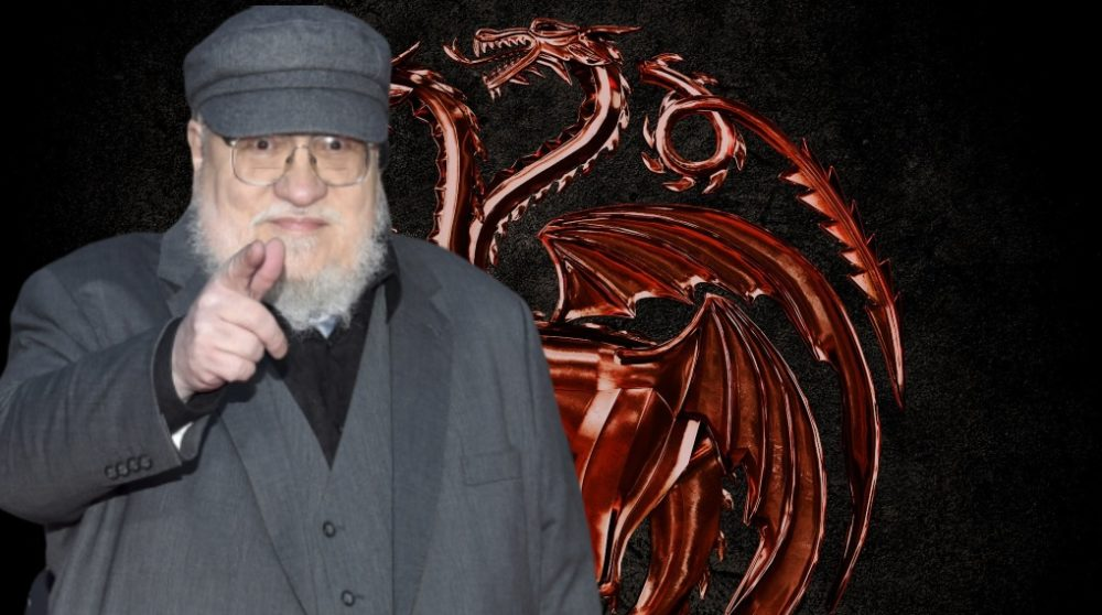George R. R. Martin Winds of Winter House of the Dragon fans / Filmz.dk