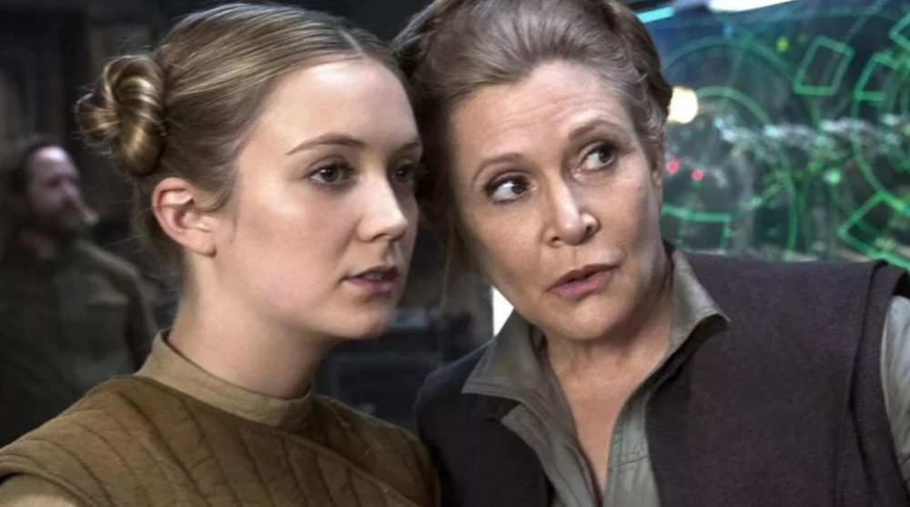 Billie Lourd Carrie Fisher Leia Star Wars The Rise of Skywalker / Filmz.dk