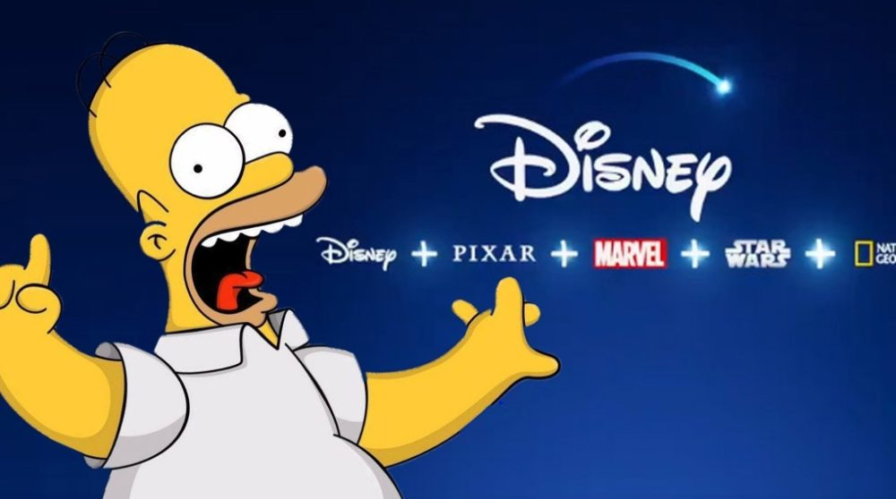 Disney Plus 4:3 The Simpsons / Filmz.dk
