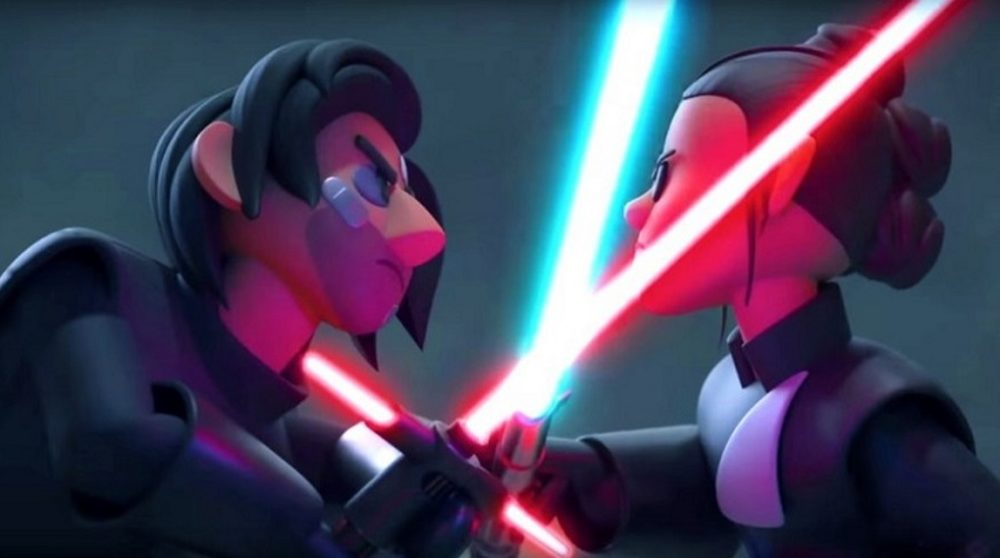 Star Wars Animation Duel of the Fates rekonstruktion / Filmz.dk
